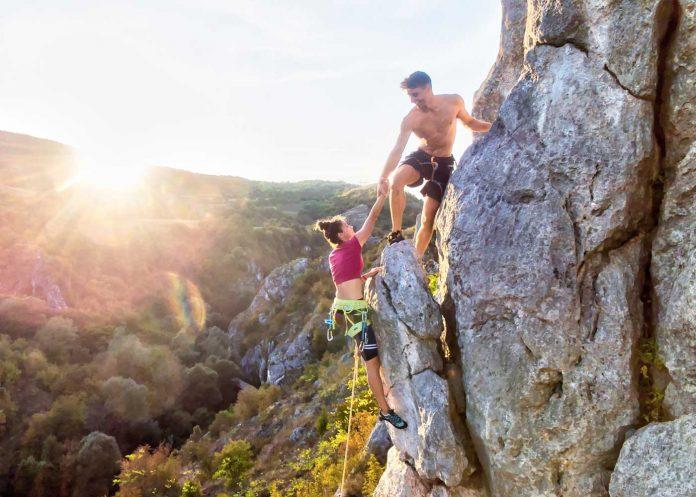 Free climbing Niš
